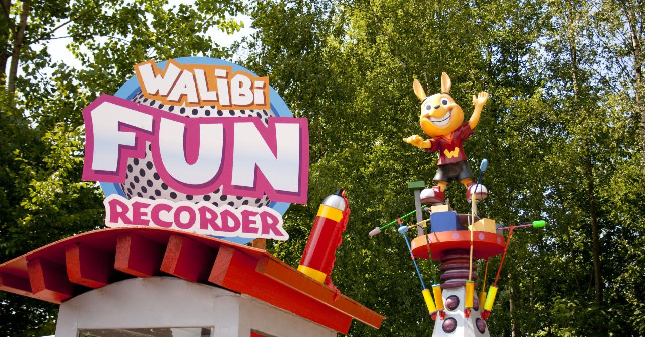 Walibi's Fun Recorder